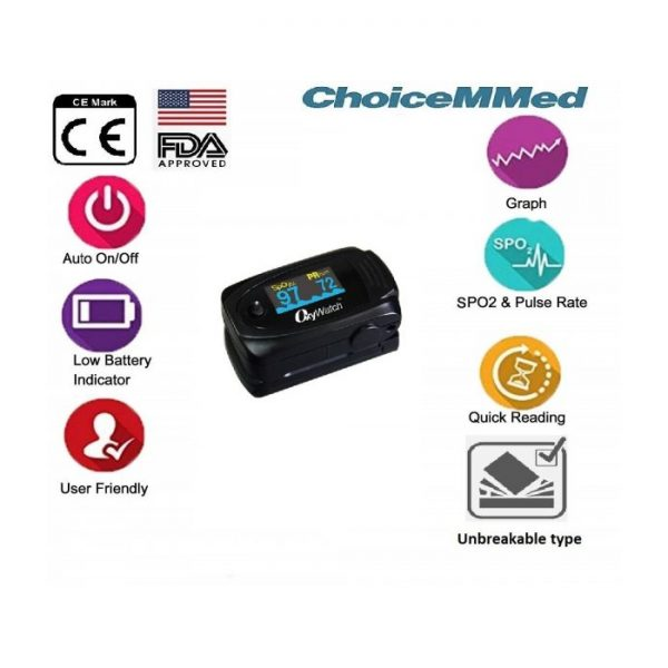 ChoiceMMed OxyWatch C63 Pulse Oximeter
